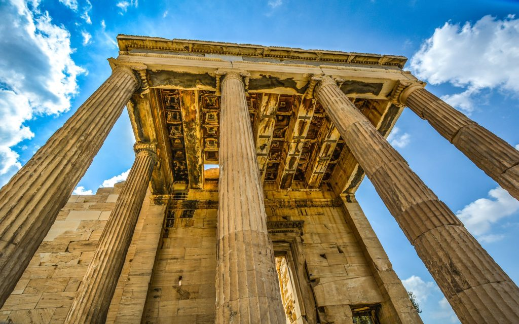 Explore The Ancient Ruins Of Athens